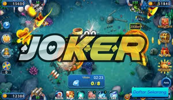 Bermain Ikan Games di Joker123 yang seru dan menarik